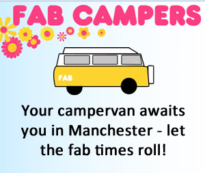 Fab Campers Campervan for hire