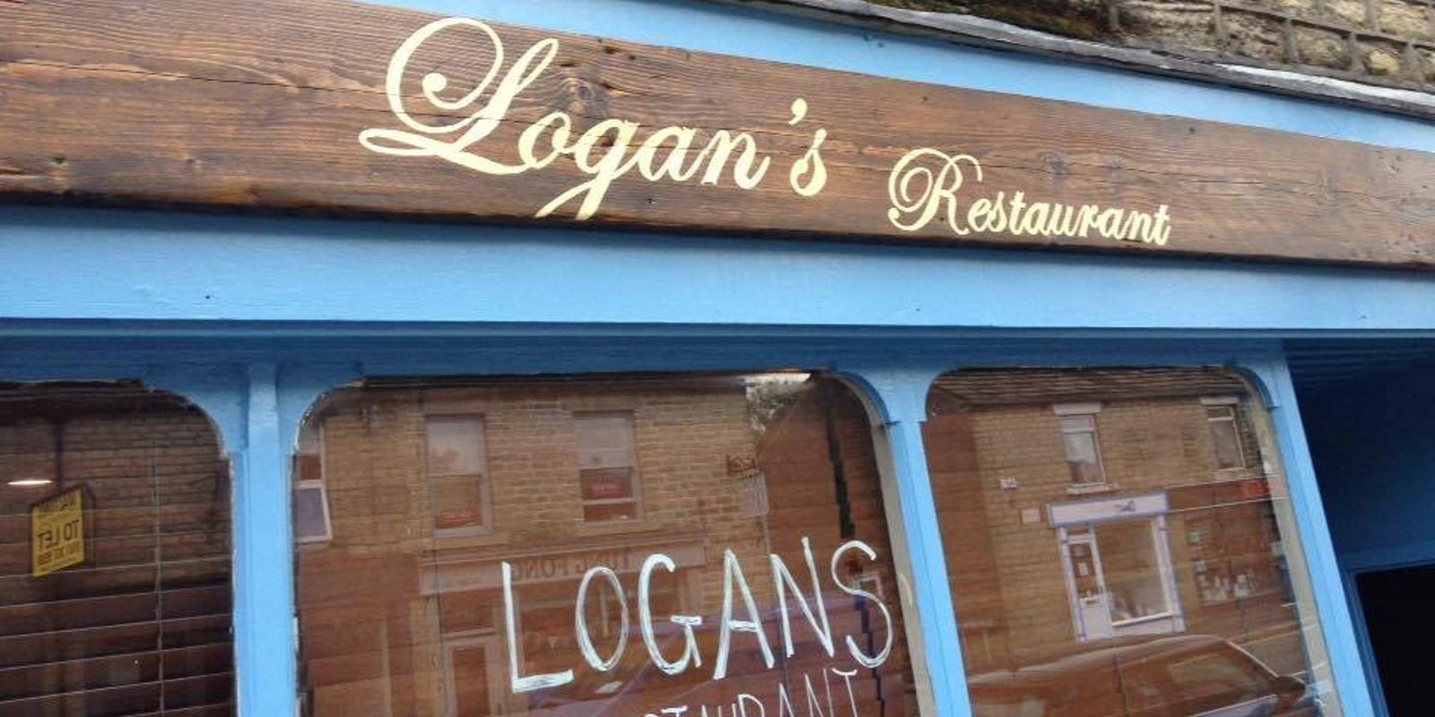 Logans Restaurant Glossop Lunch Menu