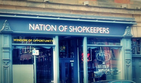 A Nation of Shopkeepers Leeds, Yorkshire