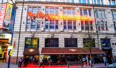 Hard Rock Cafe The Printworks, Manchester