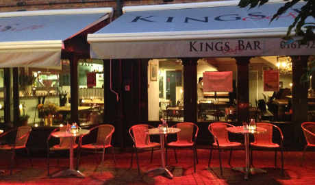 King's Cafe Bar Altrincham, Cheshire