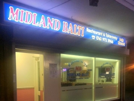 Midland Balti Sale Cheshire