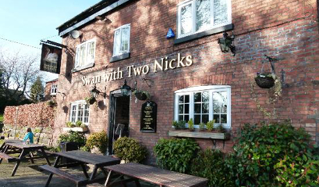 The Swan with Two Nicks Altrincham, Cheshire