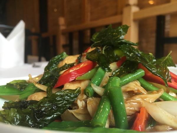 Jitrada Thai Restaurant Sale Menu
